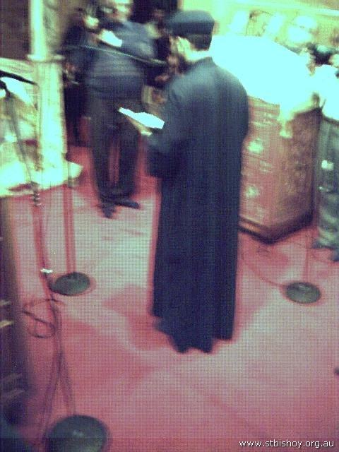 Fr. Gabriel Welcoming 4