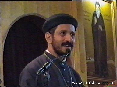 Fr. Bishoy Welcoming 8