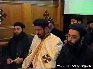 Fr. Bishoy Welcoming 17